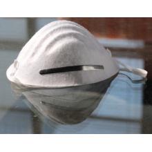 Máscara facial médica anti-poeira descartável