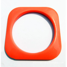 Square Plastic Acrylic Bangle Wholesale Plastic Jewelry