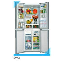 Electronic Control side by side refrigerator with ice maker