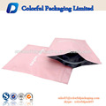 100 micron plastic capsule packaging bag 3 side seal pouch
