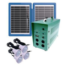 Cheap Portable 10W 18V Solar Panel Lighting System for Camping