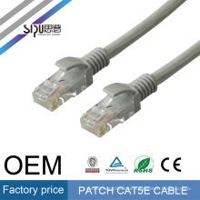 El cable de remiendo de la red del precio bajo de SIPU cat5 fobelec utp protegió el cable de remiendo al por mayor del enchufe rj45