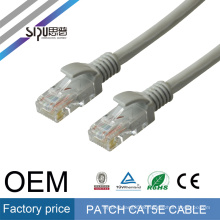 SIPU low price network cat5 patch cord fobelec utp shielded wholesale rj45 plug patch cable
