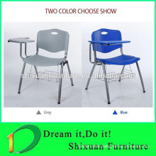 student conference tablet arm chair with writing tablet