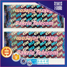 Label Keamanan Film Hologram 3D Laser