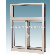 CHINA TOP THERMAL BREAK ALUMINIUM GLASS SLIDING WINDOW