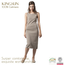 100 Cashmere Knitted Women Long Dresses, Casual Summer designer Dresses for Women