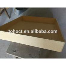 Crisol de cerámica resistencia de alta temperatura del tamaño grande 1650C mullite ceramic saggar