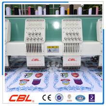 Máquina lisa do bordado do computador da boa qualidade para a venda