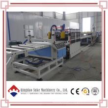 Extrusion de panneau de mousse de PVC WPC faisant la machine (SJSZ80X156)