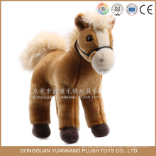 Stuffed Promotional 20cm Happy Horse Plush Toy for Kids