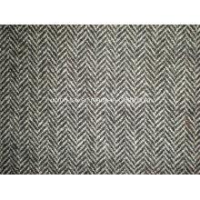 Шерстяная ткань с елочкой (Art # UW302)
