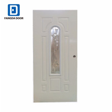 Amerikanisches klassisches dekoratives Glas Prehung Interior Steel Door