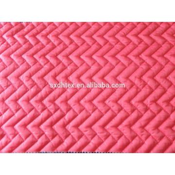 Taffata de nylon acolchado para abrigos, chaqueta de tela de forro, tela de doble cara acolchada