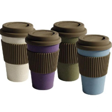 (BC-C1041) Coupe de café non toxique à la fibre de bambou à la mode