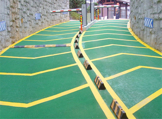 Parking Lot Slope Epoxy Mortar Slip Floor Paint