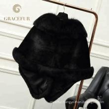 New model mink fur snood shawl