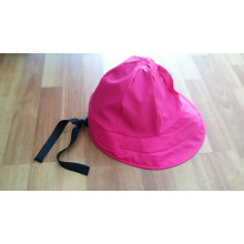Impermeable de color rosa PU para adultos