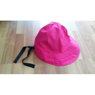 Pink PU Raincoat for Adult