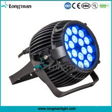 Luces al aire libre de alta calidad del jardín de la prenda impermeable 180W RGBW DMX LED