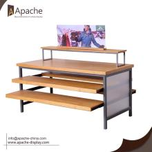 China Factories for Clothing Displays Pull-out Multilayer Display Stand for Shopping Mall supply to Netherlands Antilles Exporter