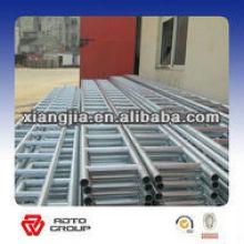 Q235 acier galvanisé échelle poutre pot supérieur