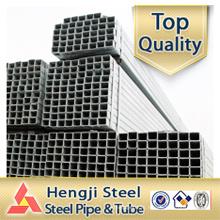 Seções rectangulares retangulares de tubo de aço