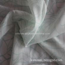 Velvet Printed Chiffon Fabric (SL12016-1)