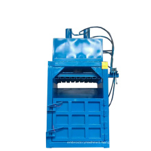 Recyclable Waste Cotton Wool Compressed Packaging Equipment Electric Baling Machine