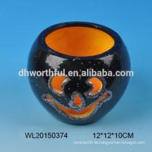 Halloween Dekoration Keramik Kerzenhalter
