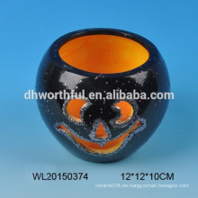 Candelabro de cerámica para decoración de Halloween
