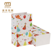Wholesale Custom Printing Lovely Decorate Fancy Design Happy Birthday Gift Paper Bags