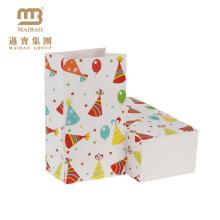 Оптовая Пользовательского Печати Прекрасные Украшения Необычные Дизайн Счастливый День Рождения Подарок Бумажные Мешки