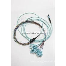 MPO-LC Mini Round 3.0mm Optical Fiber Patchcord