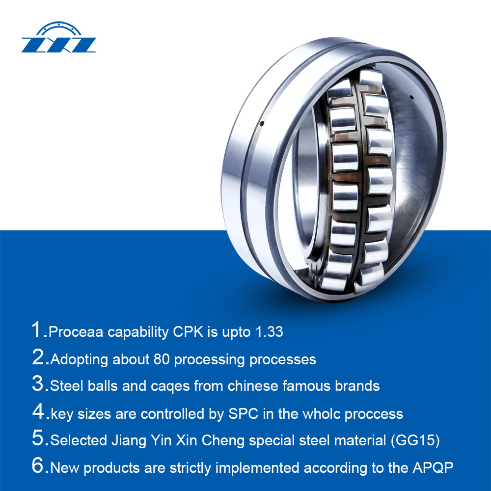 Elevator Bearings Sealed Spherical Roller Bearings Type