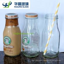 500ml Glass Milk Bottle with Caps