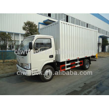 Low price Dongfeng 1.5ton van cargo truck for sale