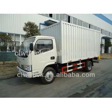 Baixo preço Dongfeng 1.5ton van truck de carga para venda