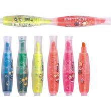 2015 Hot Sale Mini Highlighter Pen Caneta De Marcador Multicolorido