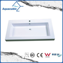 Sanitaryware Polymarble Long Bathroom Sink Acb1047A