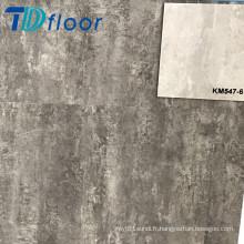 Porcelaine Emboss 4mm Unilin Cliquez Lvt PVC Vinyle Plancher