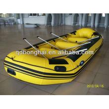 rafting botes inflables de barco de pesca de bote de PVC