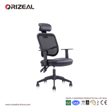 Orizeal Black Mesh Ergonomic Office Chair with Headrest (OZ-OCM002A)