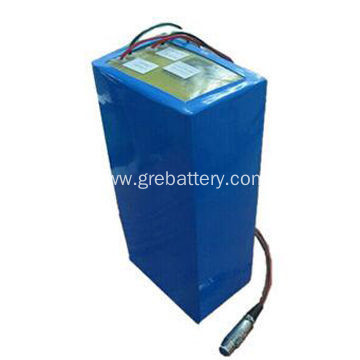 Rechargeable lithium battery with charger for motorcycle car