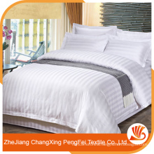 Supply special design strong quality stripe jacquard bedsheet fabric