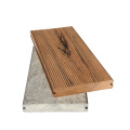 Solid mixed color sanded garden deco wpc decking