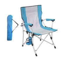 Blue Foldable Beach Chair Folding Fishing Chair Fold up Festival Camping Chair