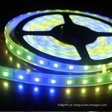 2016 novo design 12V 150 Leds RGB decoração flexível levou Strip Light