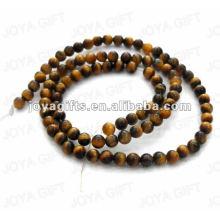 4MM Round Shaped tigereye stone beads