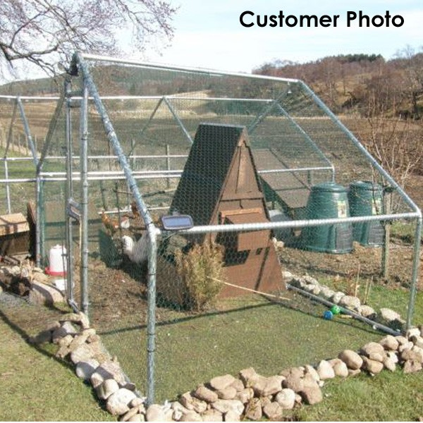 Hexagonal Chicken House